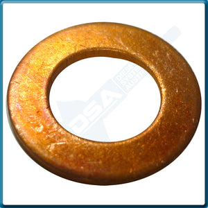 52312 Aftermarket Copper Nozzle Base Washer (18x10x1.5mm) {PKT-10}