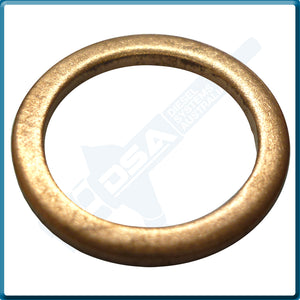 5339-874NG Aftermarket Delphi Copper Washer (17x13x1.5mm) {PKT-10}