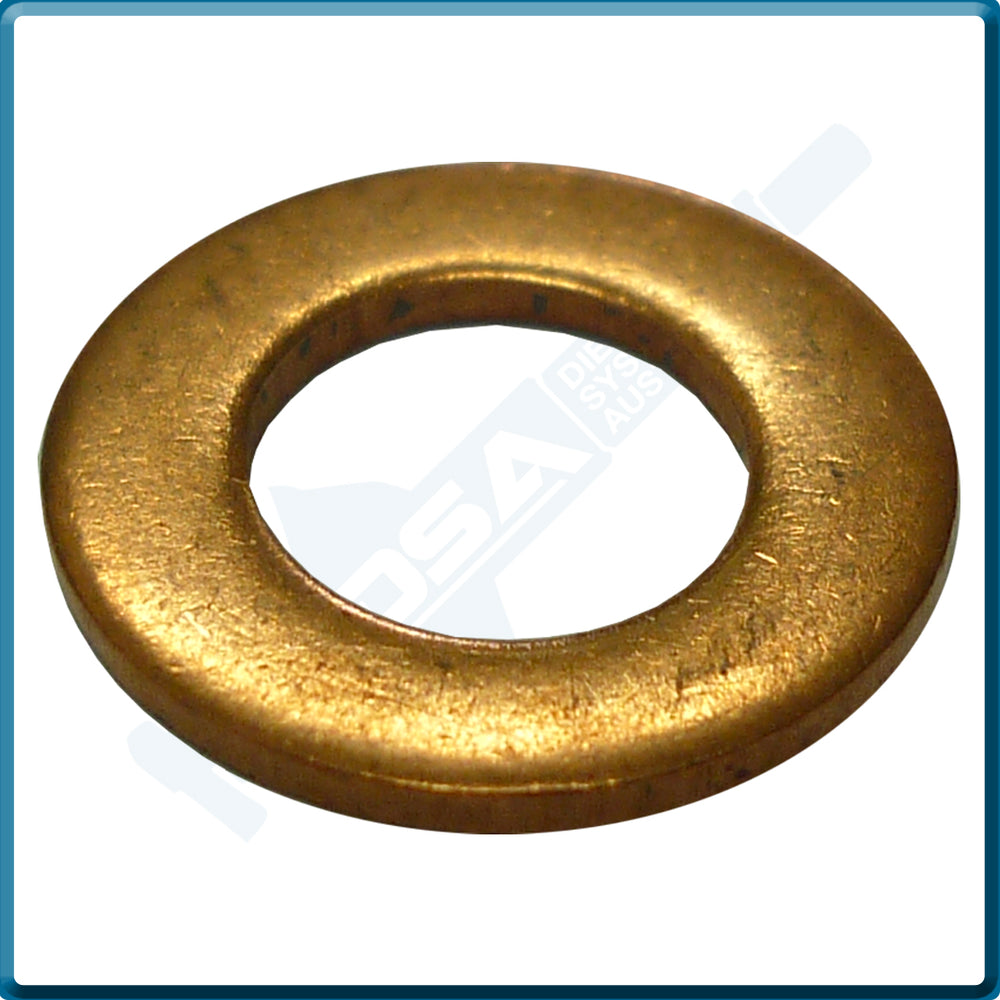 7185-815CNG Aftermarket Delphi Copper Washer (12x6.5x0.9mm) {PKT-10}