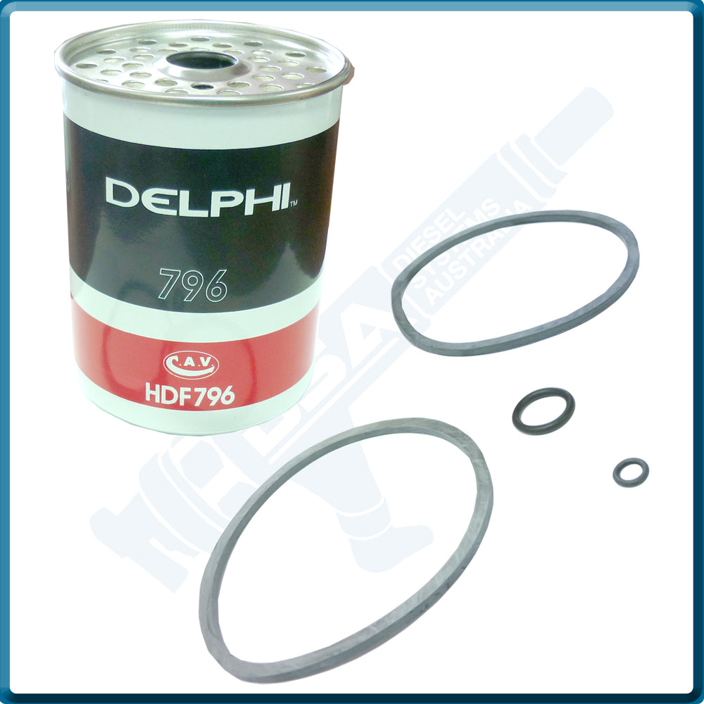 HDF-796 Genuine Delphi Filter Element
