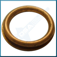 MD070718NG Aftermarket Mitsubishi Copper Heat Shield Washer (10.5x7.8x1.6mm) {PKT-10}