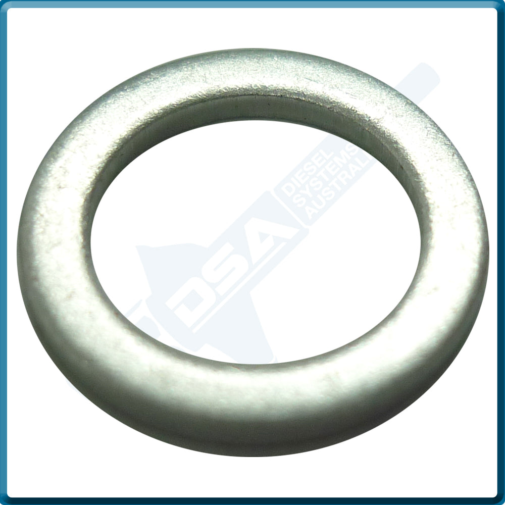 NW5-17W4A Aftermarket Delphi Aluminium Leak Off Washer (12x8x1mm) {PKT-10}