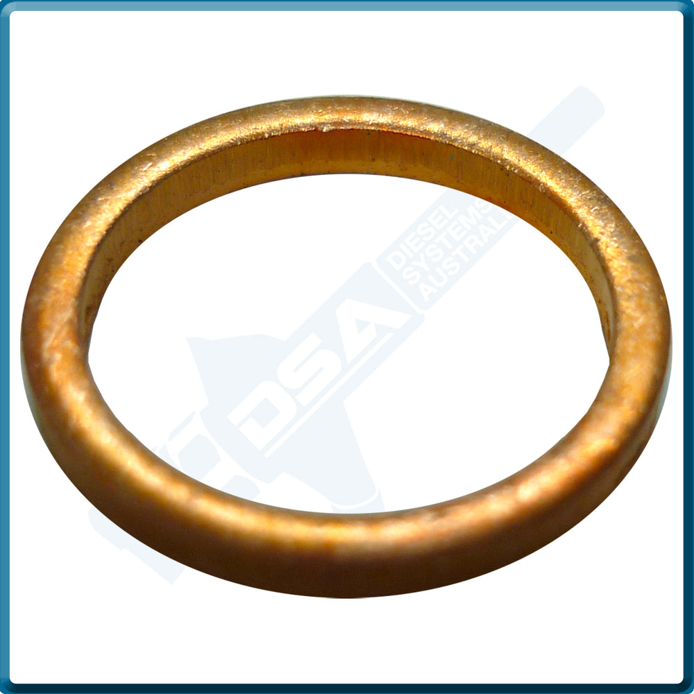 NW5-34W4NG Aftermarket Delphi Copper Washer (16x12.8x2mm) {PKT-10}