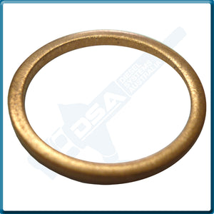 NW5-49W4NG Aftermarket Delphi Copper Washer (21.4x18x1.5mm) {PKT-10}