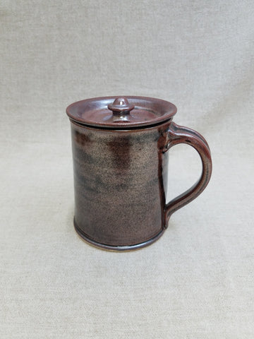 British Tankard with Lid