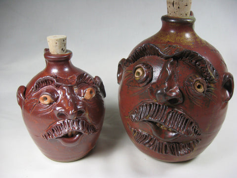 Face Jug - half gallon