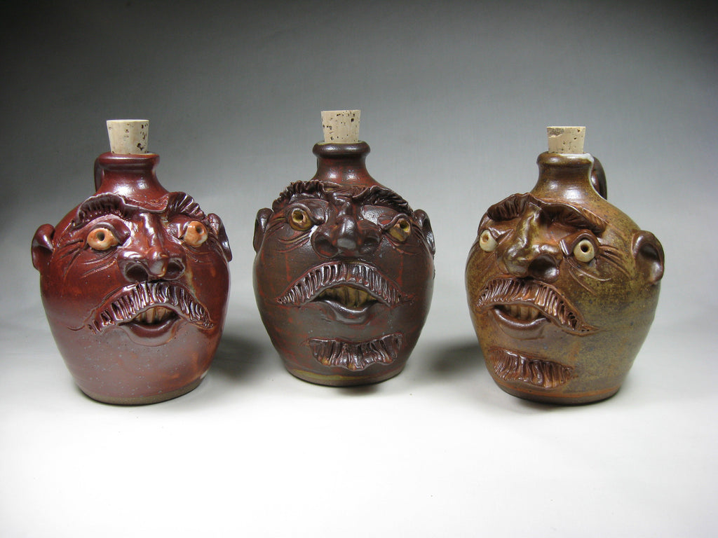 Face jug - 1 quart
