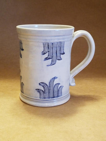 Scratch Blue Tankard