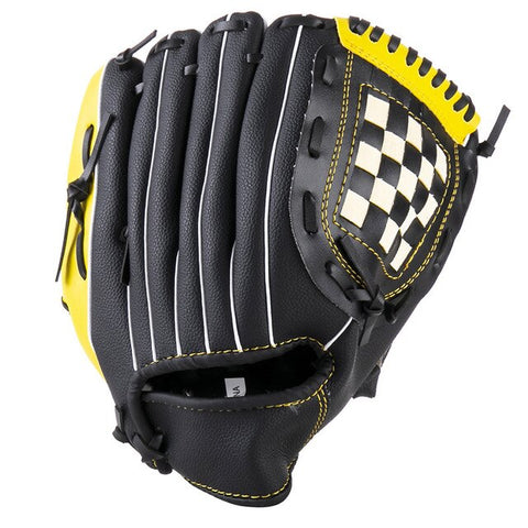 FDBRO 2019 New Hot Baseball Glove PU Thickened Baseball Glove Children Youth Closed Basked Softball Gloves 1pcs Free Shipping