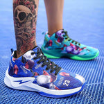 Mens Summer Canvas Basketball Shoes