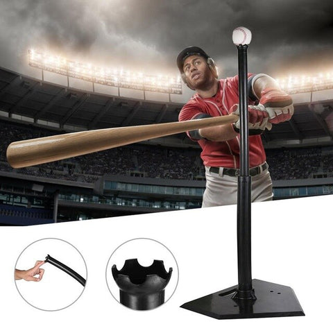 Batting Tee Heavy Duty Baseball Training Softball Hitting Tee For Teeball Baseball Sports Training Batting Tee