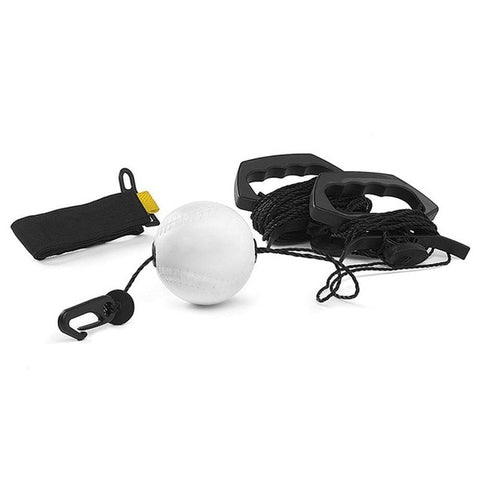 Baseball Batting Trainer Portable PU Swing Training Device Practice Tool