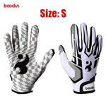 BOODUN Pro Baseball Batting Glove for Men Women Anti Slip PU Leather Softball Sport Gloves Baseball Hitter Gloves Equipment