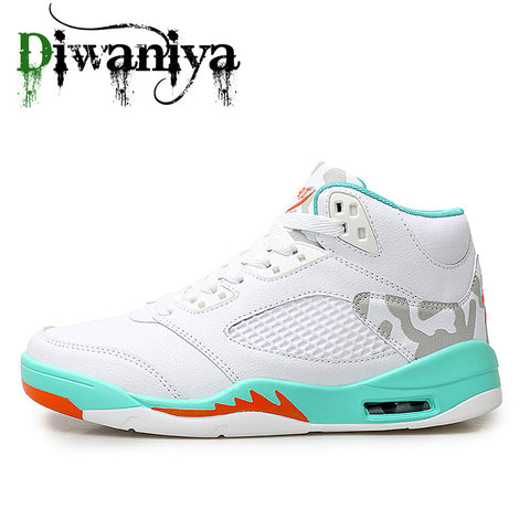 Men's Air Cushion Basketball and Jogging Shoes