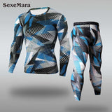 2020 Men's Sportswear Fitness Compression Men Sport Suit
