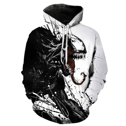 New Men Women Children Hoodies Marvel 3D Printing Venom Casual Cool Hoody Sweatshirt Boy Girl Fashion Streetwear Hooded Pullover
