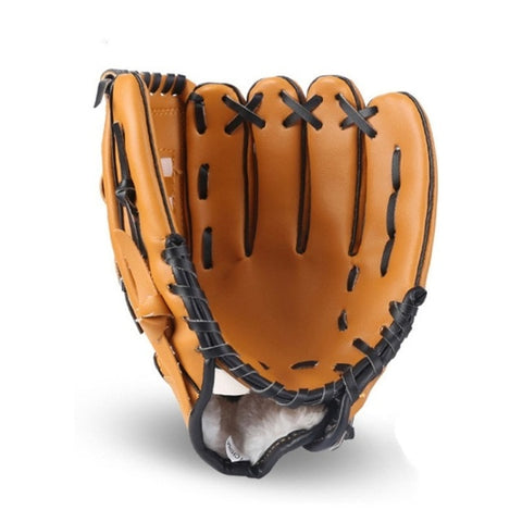 Outdoor Sports Baseball Glove Softball Practice Equipment Size 10.5/11.5/12.5 Left Hand for Adult Man Woman Kids Train
