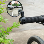 Bicycle Rearview Handlebar Mirrors Cycling Rear View MTB Bike Silicone Handle Rearview Mirror