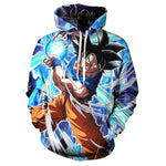 Dragon Ball Z Strong Goku 3D Hoodie Pullover Cool Men Women Tracksuits Streetwear Hoody Harajuku Hooded Sweatshirts Plus Size