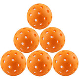 74MM OUTDOOR Sports Expert Plastic Practice Baseballs Indoor Pickleballs 40 holes pick-up ball 1PCs New Arrival