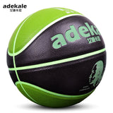 Fluorescent Glowing Basketball No. 7 / No. 5 Outdoor Indoor Game Training Ball PU Luminous Leather