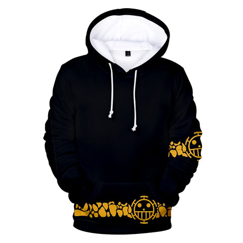3D Printed Hoodies One Piece Hoodie Men Sweatshirt Women Harajuku Kids pullovers Casual Hot sale Anime black 3D Hoodies Clothes