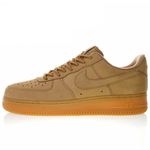 New High Quality Nike Air Force 1 Low 07 Flax Men and Women Skateboarding Shoes Outdoor Sneakers Shock Absorption AA4061 200