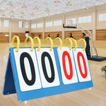 Portable Scoreboards For Basketball Volleyball Soccer Table Tennis Sports Competition Digit Score Board Change-over 2/3/4