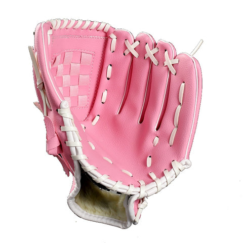 PU Material Outdoor Sports Baseball Glove Softball Practice Equipment 10.5/11.5/12.5 Inch Left Hand for Adult Youth Kids Train