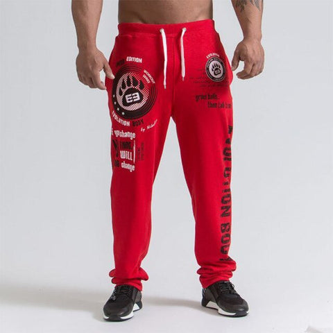 New Fashion Casual Trousers Track Pants men loose casual high quality fashion Sweatpants jogger ankle-length trouser
