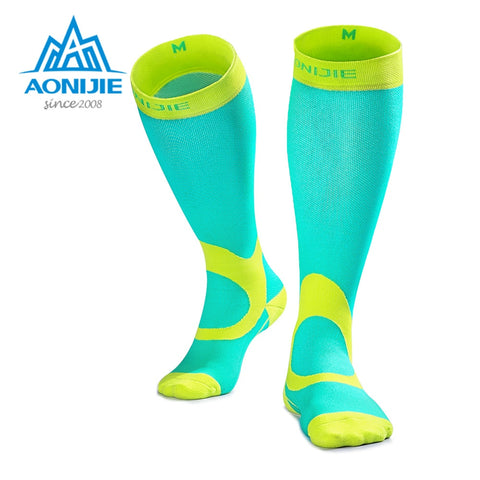 Compression Athletic Stockings for Running