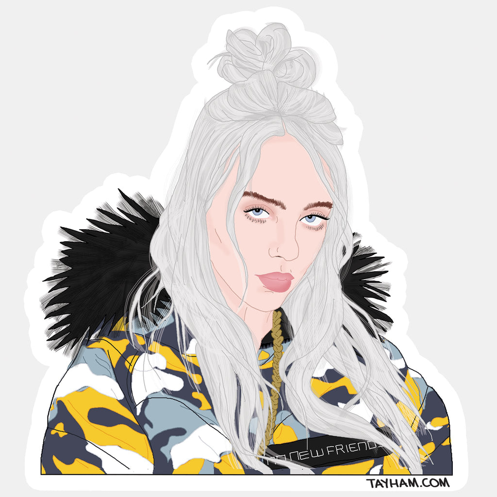 Billie Sticker