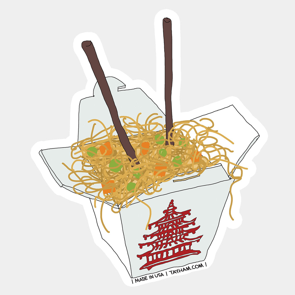 Takeout Food Sticker