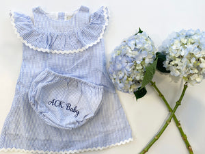 ACK Baby lighthouse beach dress