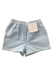 Boys Resort seersucker shorts