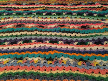 Load image into Gallery viewer, Crochet blanket- multi colored