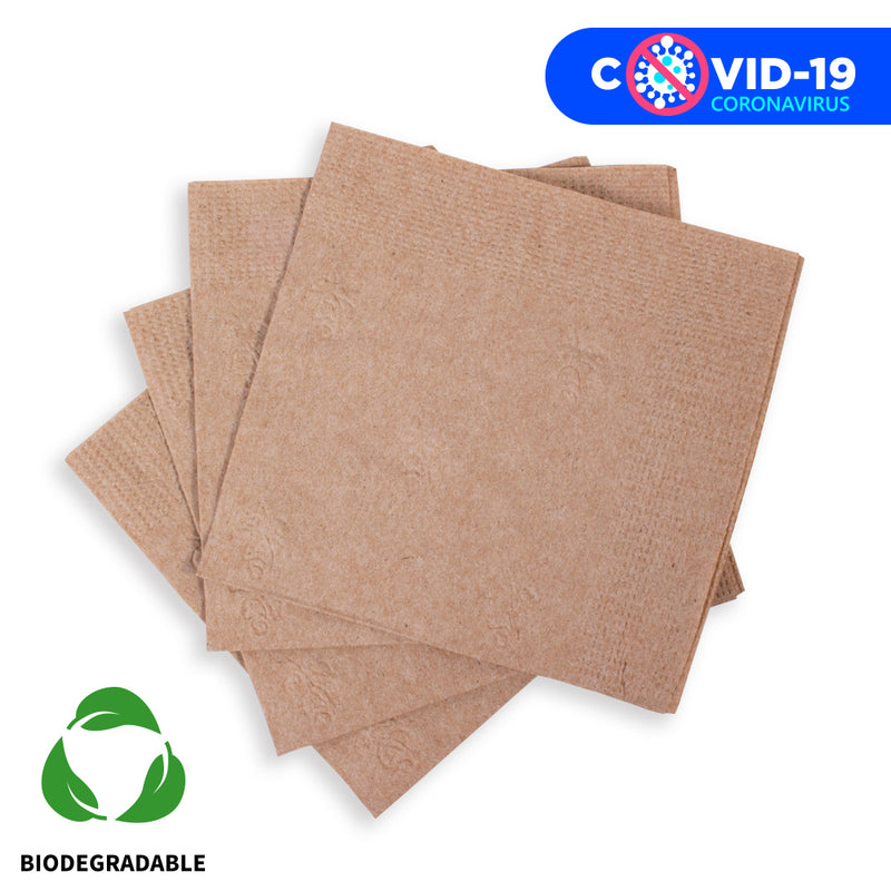 "Eco Party Servilletas Doble ""Biodegradable"""