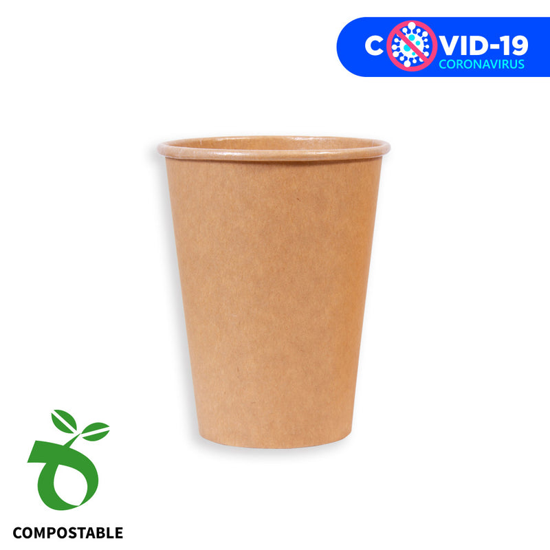 "Eco Party Vaso 350cc. ""Compostable"""