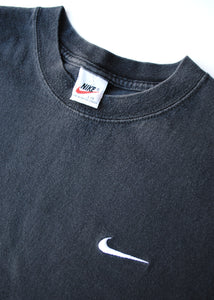 90's Black Nike T-Shirt, Large