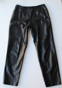 Danier Y2K Leather Pants, Size 12