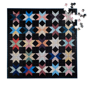 New York Quilt Puzzle by Maura Grace Ambrose, Four Points