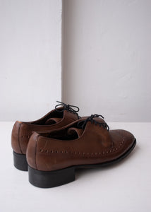 Rand Brown Brogue Oxfords, Men's 8.5