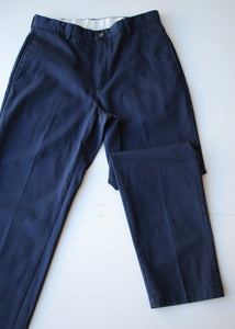LL Bean Navy Trousers, 32""