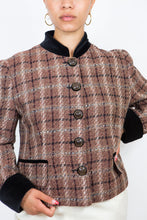 Load image into Gallery viewer, Louis Féraud Houndstooth Jacket, Size 12