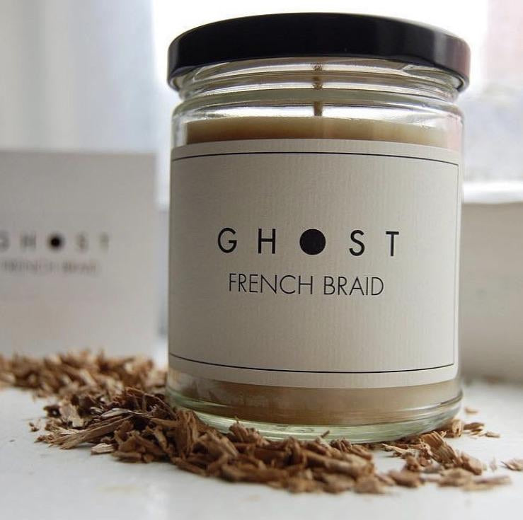 French Braid Candle by Ghost