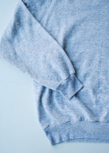 Flecked Grey Sweatshirt, Medium
