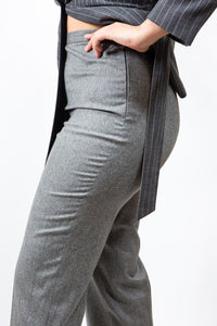 "Jaeger Grey Wool Trousers, 14/ 38"" Waist"