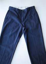 Load image into Gallery viewer, LL Bean Navy Trousers, 32""