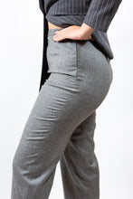 "Load image into Gallery viewer, Jaeger Grey Wool Trousers, 14/ 38"" Waist"