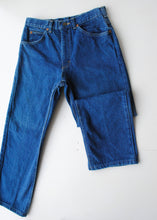 Load image into Gallery viewer, 70's Cropped Lee Jeans, 28""